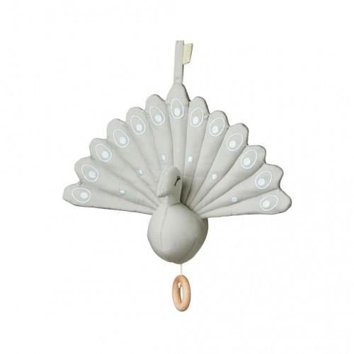 Hudební hračka Peacock šedá
