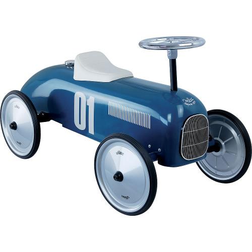 Vilac Vintage kovové odrážedlo modré