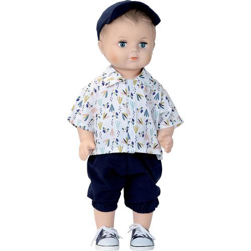 Petitcollin Koupací panenka 40 cm Louis