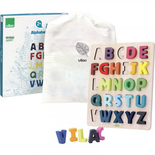 Vilac Vkládací puzzle abeceda