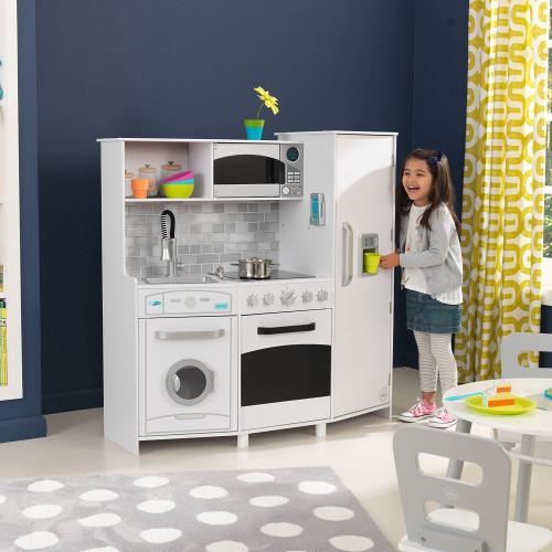 KidKraft Velká dětská kuchyňka se světly a zvuky rozbalený obal