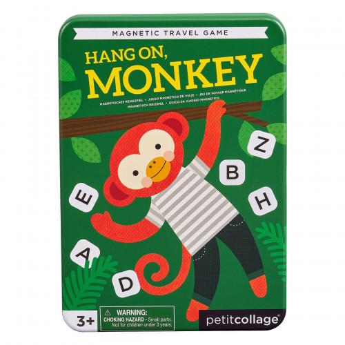 Petit Collage Magnetická hra Počkej, opičko
