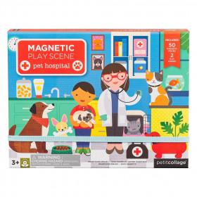 Petit Collage Magnetická tabulka veterinární klinika