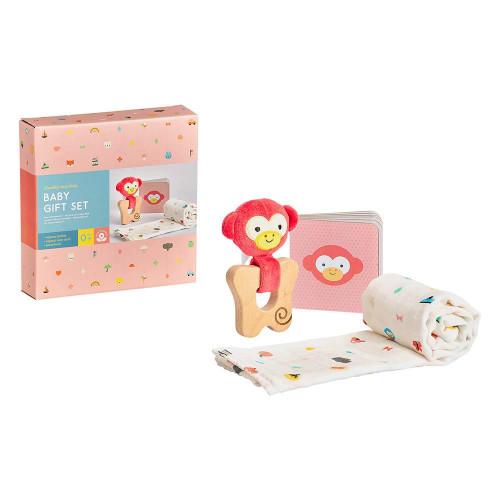 Petit Collage Dárkový set pro miminka opička