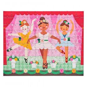 Petit Collage Oboustranné puzzle 2v1 baletky