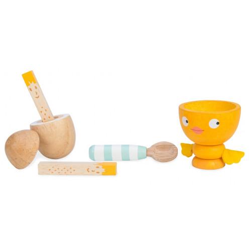 Le Toy Van Snídaňový set veselé vajíčko
