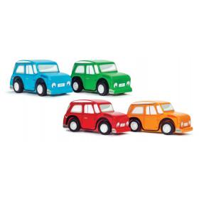 Le Toy Van barevné autíčko 1 ks červená Le Toy Van barevné autíčko 1 ks červená