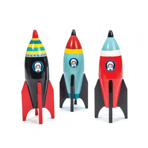 Le Toy Van Barevná raketa 1 ks