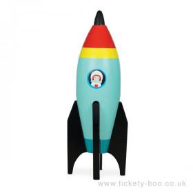Le Toy Van barevná raketa 1 ks modrá Le Toy Van barevná raketa 1 ks modrá