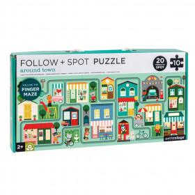 Petit Collage Bludiště a puzzle Město