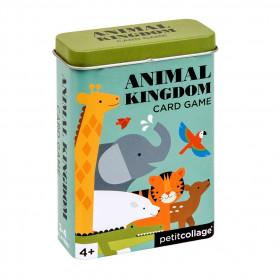 Petit Collage Karty v dóze království zvířat