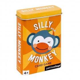 Petit Collage Karty v dóze hloupá opička
