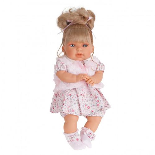 Antonio Juan Realistická panenka Any coleta - světlé vlásky 37 cm