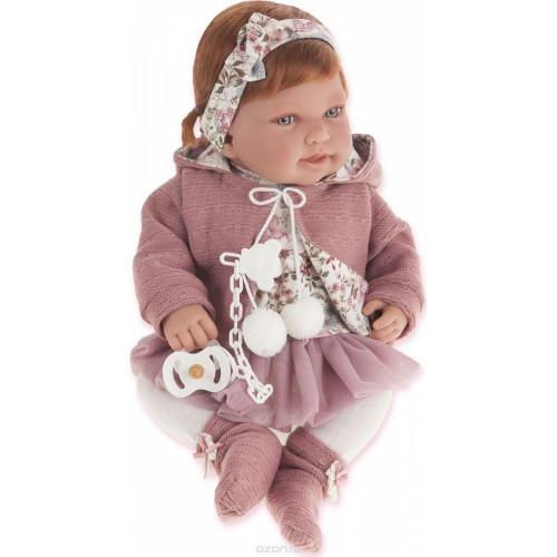 Antonio Juan Realistické miminko holčička Pipa Paseo 40 cm