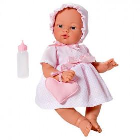 ASIVIL Realistické miminko KOKE se srdíčkem 36 cm