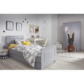 dětská postel BELLAMY Ines 90 x 200 cm šedá