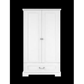 dvoudveřová  šatní skříň BELLAMY INES bílá
