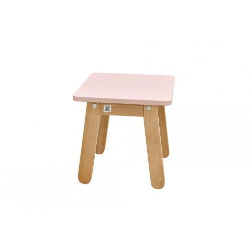 Dětská stolička Bellamy Woody DUSTY PINK