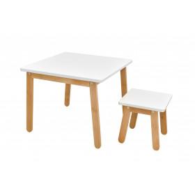Dětská stolička Bellamy Woody Pure