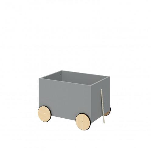pojízdný box na hračky BELLAMY Lotta šedý