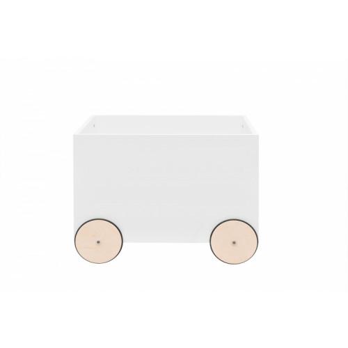 pojízdný box na hračky BELLAMY Lotta bílý