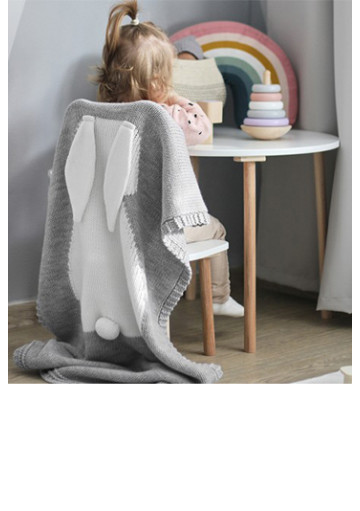 Dětské deky z merino vlny