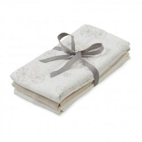 Mušelinové pleny 3 ks. Mix Dandelion Natural, Light Sand, Creme White
