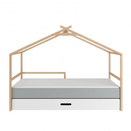 Dětská postel ve tvaru domečku se šuplíkem TeePee Bellamy 90x200