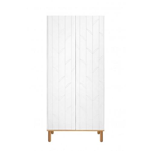 Dvoudveřová šatní skříň BELLAMY TOTEME BOTANIC