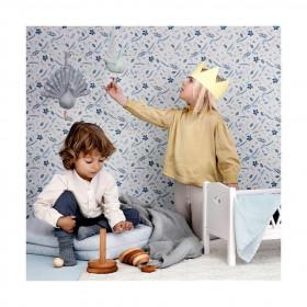 Harlequin postýlka pro panenky - White