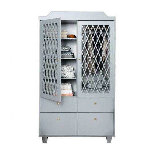 Šatní skříň Harlequin - Grey