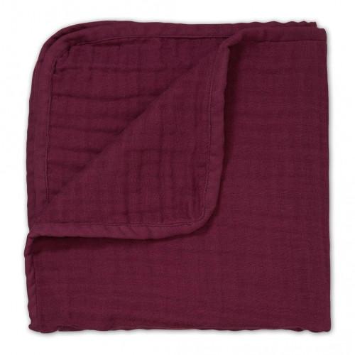Mušelínová deka - Bordeaux