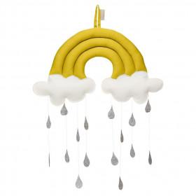 Závěsná hračka Duha - Mustard