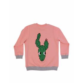 Mikina Kaktus růžová