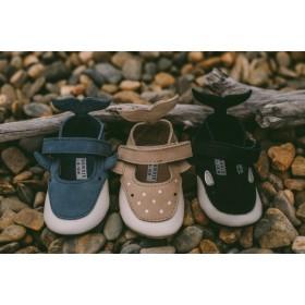 Dětské kožené botičky AMIGU | Whale