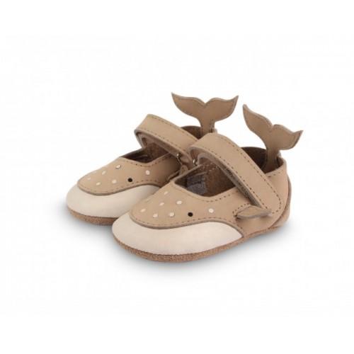 Dětské kožené botičky AMIGU | Whaleshark