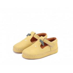 Dětské kožené botičky BOWI | Lemon