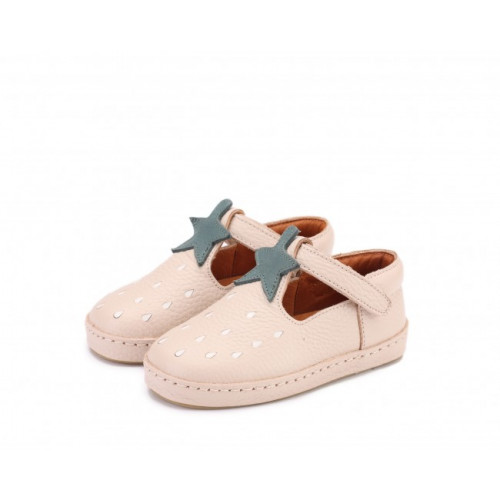 Dětské kožené botičky BOWI | Strawberry