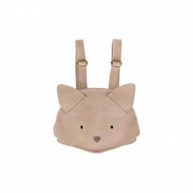 Dětský kožený batůžek KAPI BACKPACK | Cat