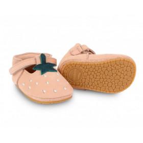 Dětské kožené botičky NANOE | Strawberry