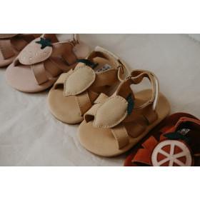 Dětské kožené sandálky SADIE Lemon