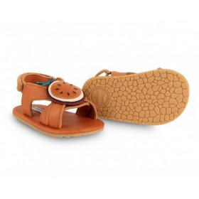 Dětské kožené sandálky SADIE Passion Fruit