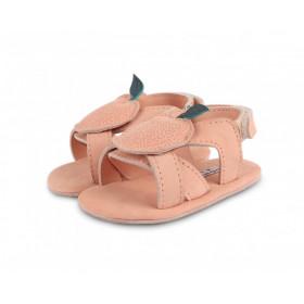 Dětské kožené sandálky SADIE Peach