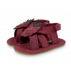 Dětské kožené sandálky SADIE Raspberry
