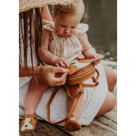 Dětské kožené botičky SPARK - Pug