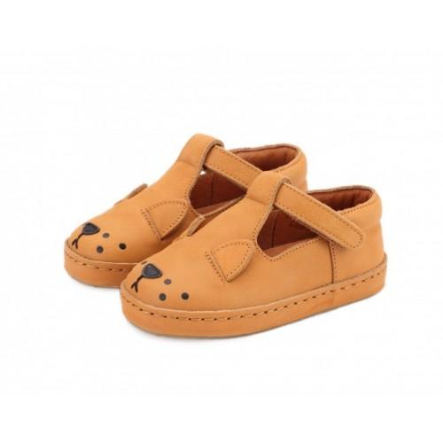 Dětské kožené botičky XAN   Lion