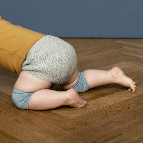 GoBabyGo protiskluzové návleky na kolena modré