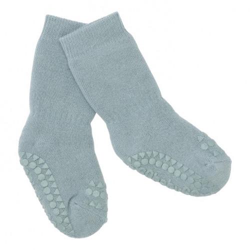 GoBabyGo protiskluzové ponožky modré