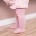 GoBabyGo protiskluzové punčocháče růžové