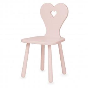 Židlička Heart růžová